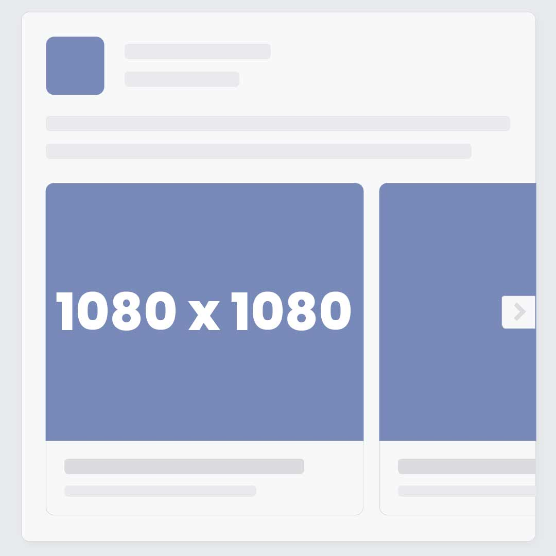 Facebook Carousel Video Ad Size / Dimensions