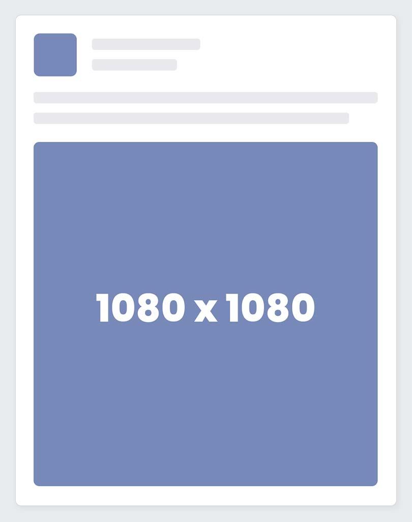 Facebook Square Ad Size / Dimensions