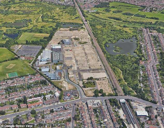 Aerial Photo of Dagenham Film Studios Location