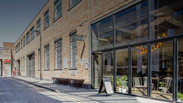 An exterior view of our film and photographic studio in east london